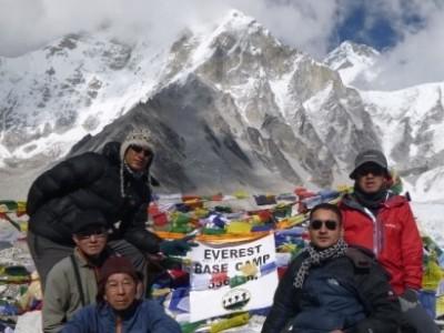 エベレスト ベースキャンプ トレッキング