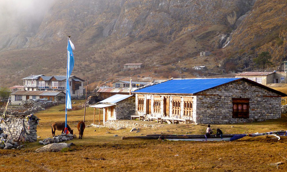 langtang valley trek in october