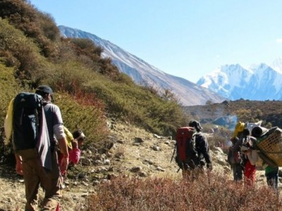 Langtang Trek Difficulty