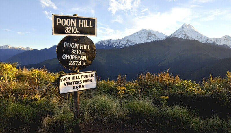 Poonhill High Cammp (3210m)